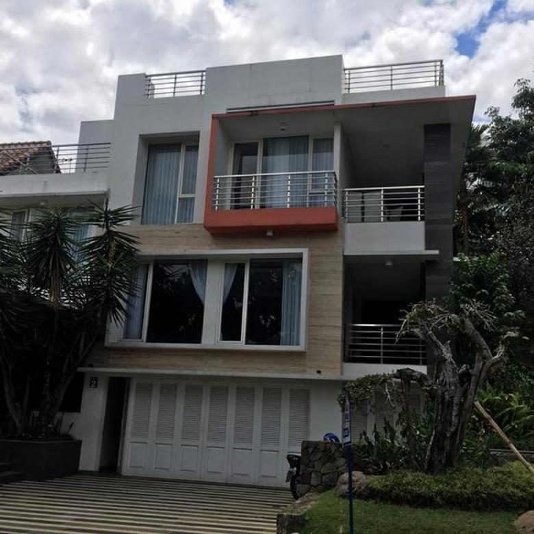Rumah Vila Mevah Full Furnish Siap Huni Full Fasilitas Di Dago Resort