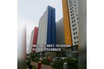 Green pramuka Apartement Tipe studio 21 m2 bisa kredit cicilan ringan