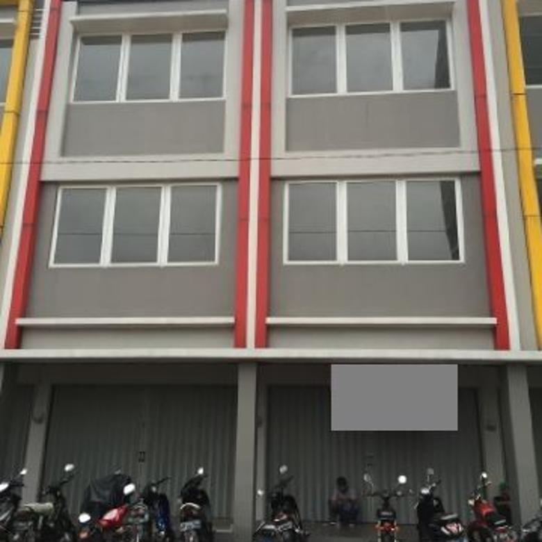 Ruko Baru 3 LT Komplek Ruko Pusat Bisnis di Cibaduyut Bandung