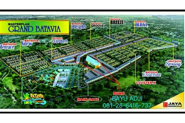 Grand Batavia cluster rumah 2lantai Hook tangerang Dp.20 Bulan murah 15790081