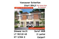 Rumah Vancouver Extention puri surya jaya gedangan surabaya