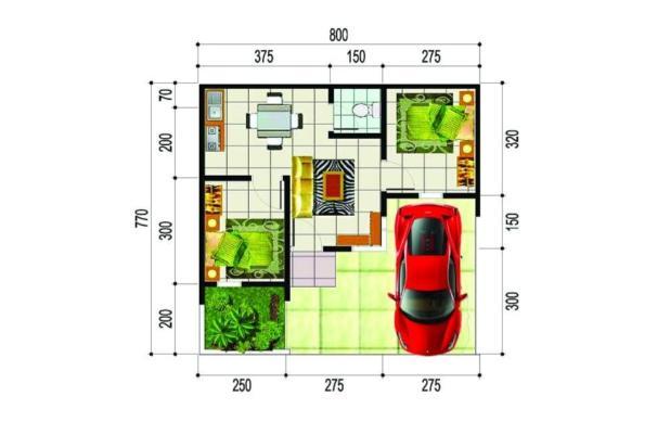 Rp707jt Rumah Dijual