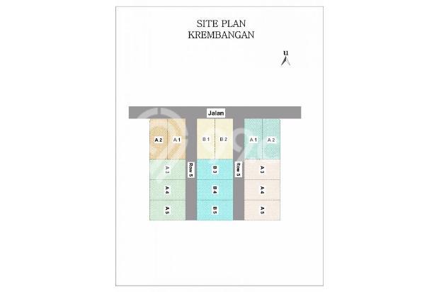 Angsuran Rendah, Rumah KPR TANPA DP di Krembangan 14417369
