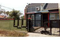 Rumah keluarga hook di Metland Tambun tanah luas view Timur over kredit