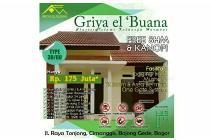 Griya El'buana Rumah Syariah Murah deket stasiun Bojonggede