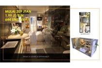 Dijual Apartemen Crown Residence Tipe Studio Lokasi Strategis, Sidoarjo