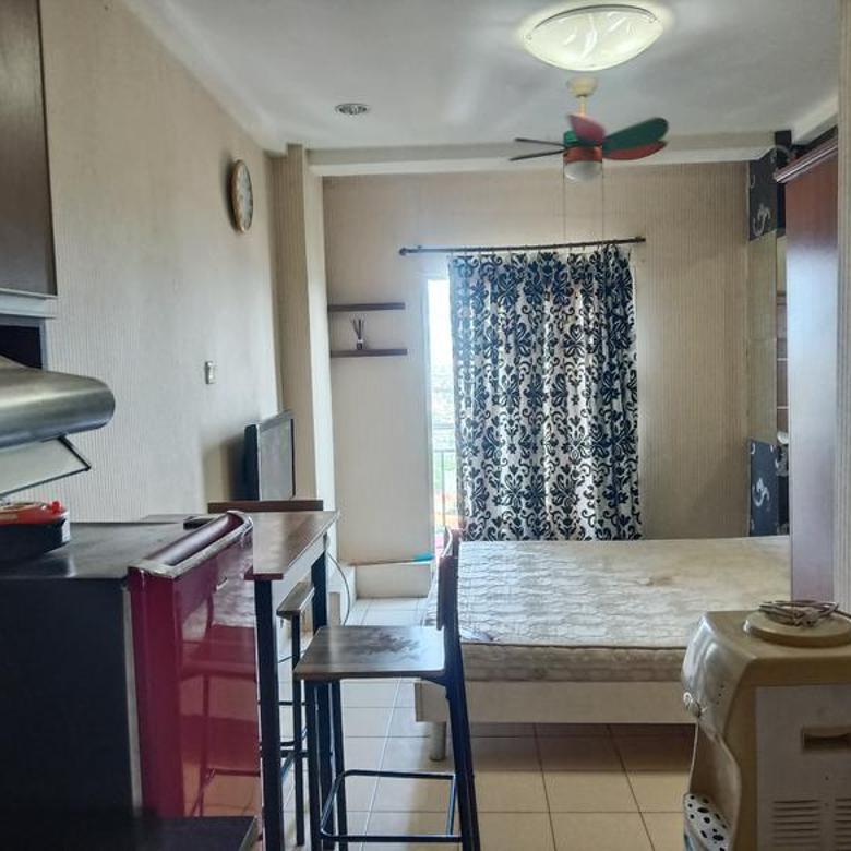 Apartemen Puri Park View Tower A studio lt 23 full furnish hdp city/timur BU