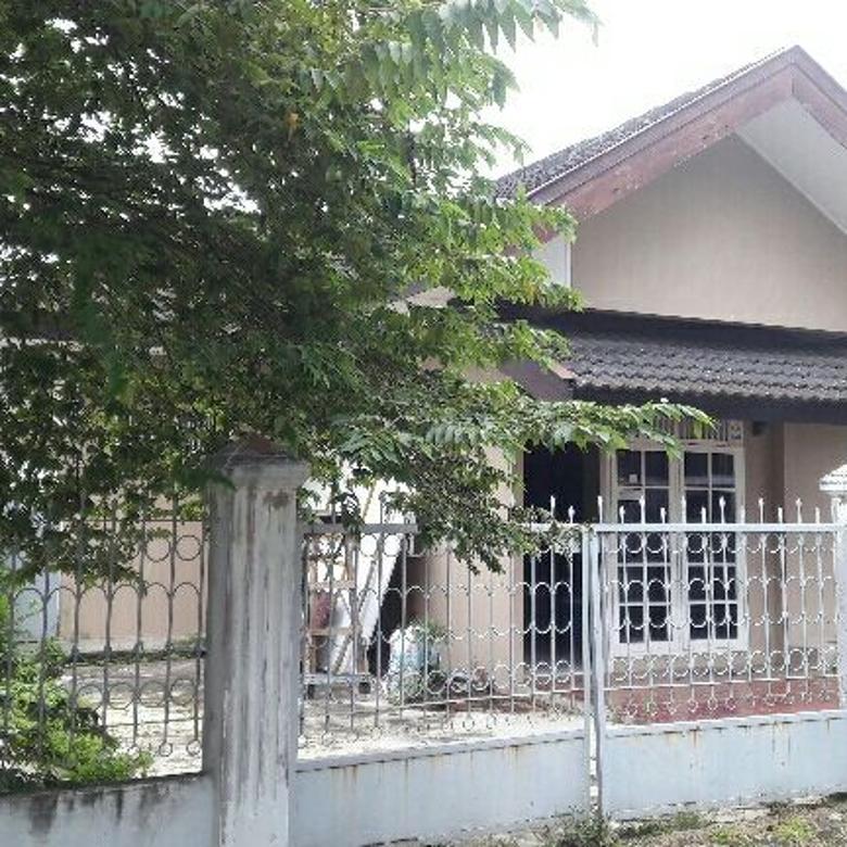 Dijual Rumah Tipe 150 LT 343 Kedamaian Permai Palembang