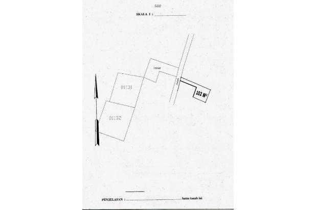 Rp459jt Tanah Dijual