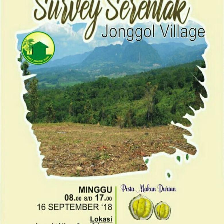 'Jonggol Village' Kavling produktif termurah di pusat kota Jonggol