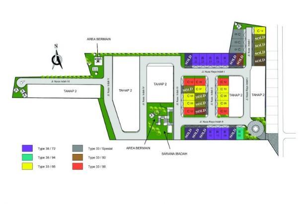 rumah dengan design modern di daerah bandung barat harga murah 14318640