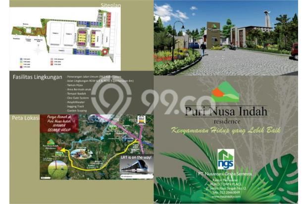 rumah dengan design modern di daerah bandung barat harga murah 14318641