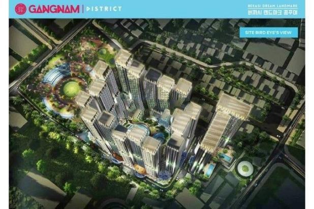 Dijual Perdana Apartemen Mewah Fasilitas Lengkap di Gangnam District Bekasi 13962136