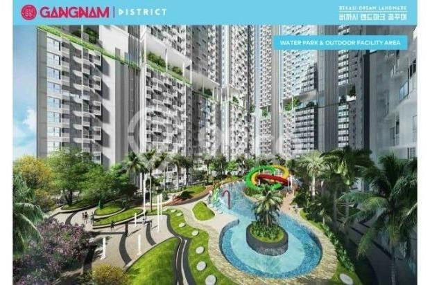 Dijual Perdana Apartemen Mewah Fasilitas Lengkap di Gangnam District Bekasi 13962142