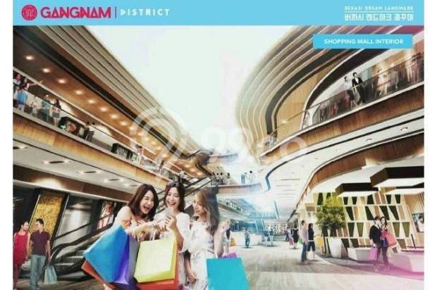 Dijual Perdana Apartemen Mewah Fasilitas Lengkap di Gangnam District Bekasi 13962141