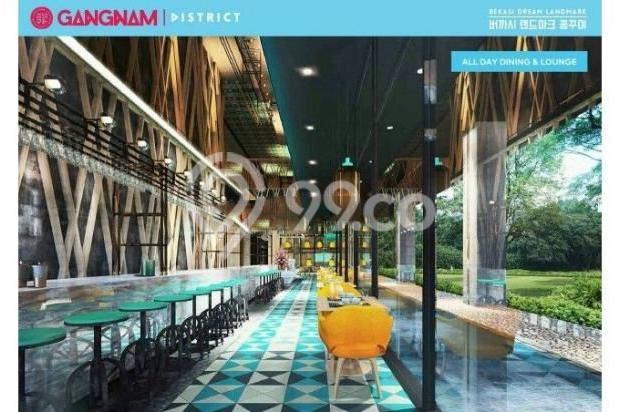 Dijual Perdana Apartemen Mewah Fasilitas Lengkap di Gangnam District Bekasi 13962143
