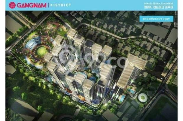 Dijual Perdana Apartemen Mewah Fasilitas Lengkap di Gangnam District Bekasi 13962144