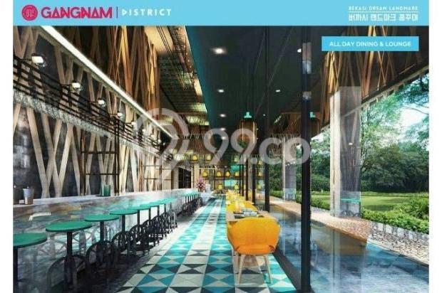 Dijual Perdana Apartemen Mewah Fasilitas Lengkap di Gangnam District Bekasi 13962147