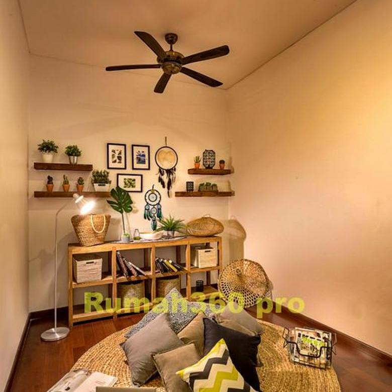 Rumah Siap Huni Furnished dengan kolam renang Simplicity BSD - S095
