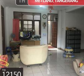 Dijual Rumah Metland, Tangerang, 135m, 2 Lt, SHM