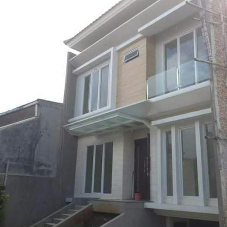 Rumah di Cinere, Bangunan Baru 3Lt dlm Cluster Baru di Cilobak