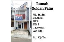 Rumah bagus bercluster di Golden Palm Jakarta Barat. Siap huni
