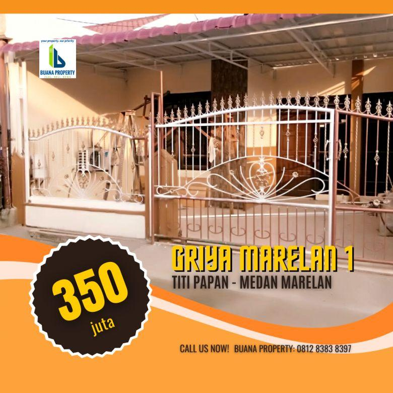 Rumah Mungil Semi perabotan di Griya Marelan 1 Marelan