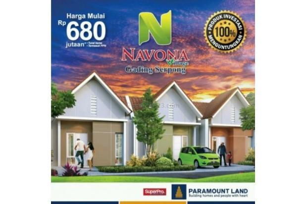 Rumah Navona Village Di Cluster Catalina Gading Serpong Tangerang. 11457854