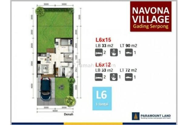Rumah Navona Village Di Cluster Catalina Gading Serpong Tangerang. 11457857