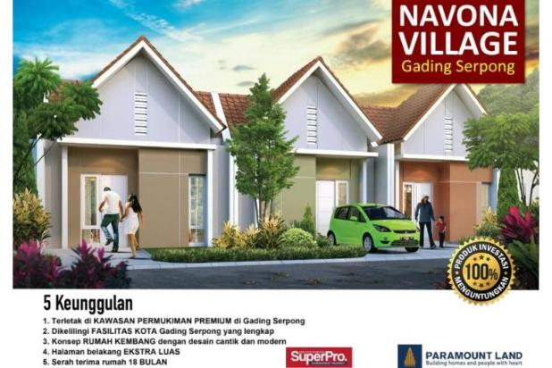 Rumah Navona Village Di Cluster Catalina Gading Serpong Tangerang. 11457856