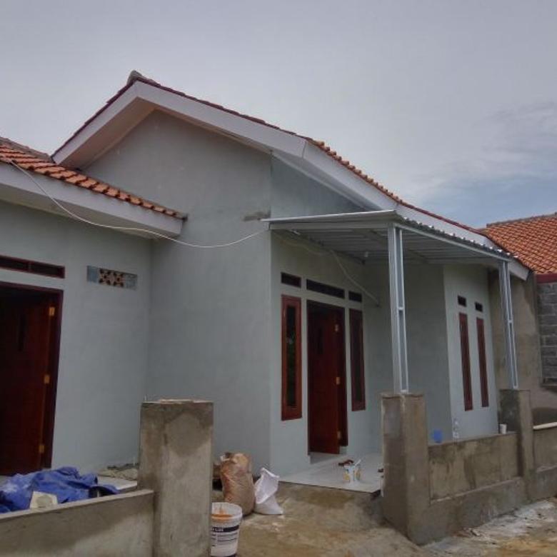 Jual Rumah Minimalis Termurah Akses Masuk Motor D Pabuaran Bojonggede Bogor