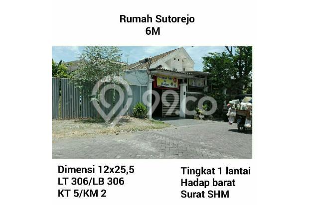 Dijual Rumah Sutorejo Murah SHM nego!!! 14755964