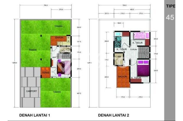 Dijual Rumah Murah skema Syariah 300jt an di Ujung Berung Bandung Timur 12941561
