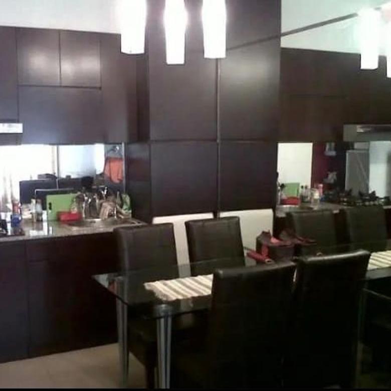 Jual apartemen Sudirman Park 2 kamar furnished