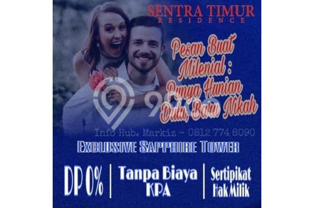 APARTEMEN SENTRA TIMUR SIAP HUNI. TANPA DP !! 17712299