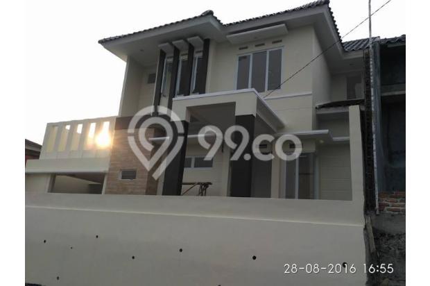 Rumah 2 Lantai 120/120 7 menit ke Tol & Stasiun KRL Cibinong FREE KPR 14418622