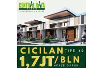 Rumah di TIban Cicilan 1.7 jt FREE AC!