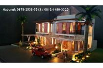 Rumah Dua Lantai dengan Konsep Villa Cluster di Kawasan Elit Dago Bandung