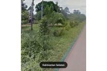 Tanah 2,4 hektar ( l=68 x p=365 ) pinggir jalan raya imban