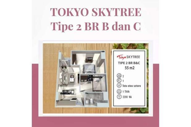 Rp853jt Apartemen Dijual