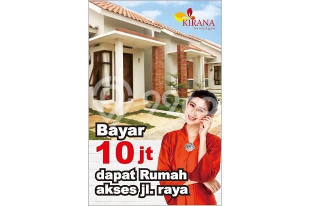 Kirana Sawangan KPR DP 0 %, Angsuran 6 % Saja 17793782