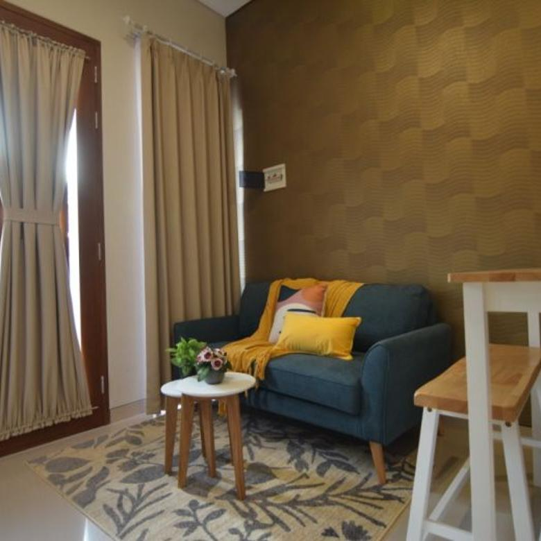 100% GRESS! Rumah minimallis 2lt Pakis Town House SEMI FURNISH