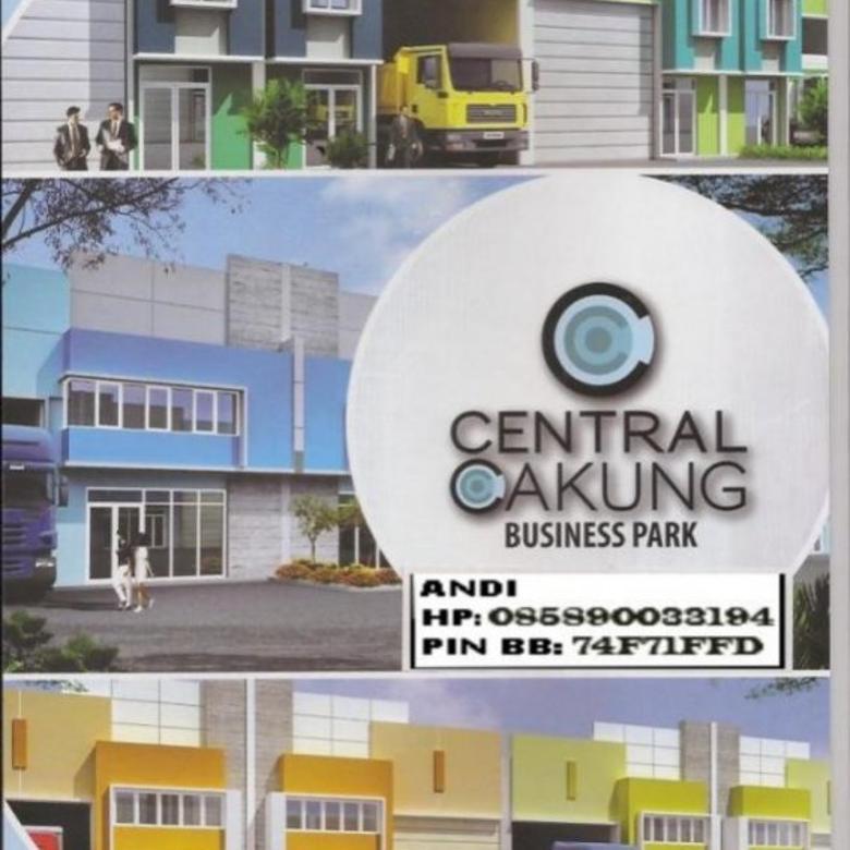 DIJUAL Gudang Hoek Central Cakung Business Park 23x41m2