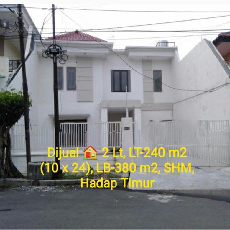 Rumah 2 Lantai Siap Huni di Margorejo Indah Blok C Surabaya