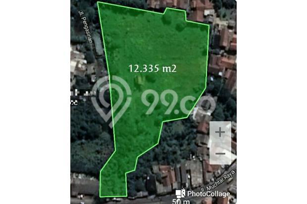 Tanah rata bagus pinggir jalan raya sawangan depok 17712812