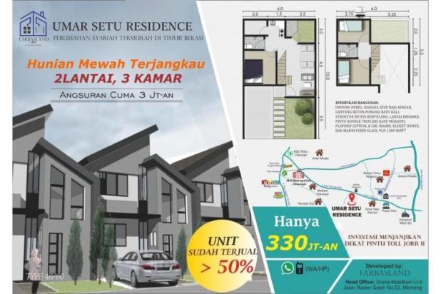 Dijual Rumah Bekasi Dp Ringan: Investasi Pasti Untung 12900393