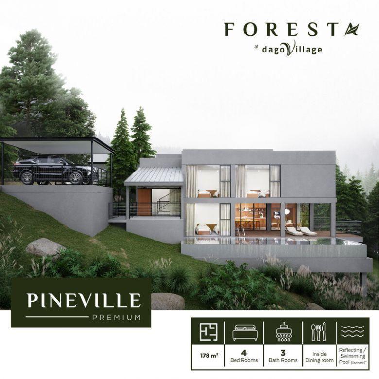 Hunian mewah dan ekslusif di cluster foresta dago village