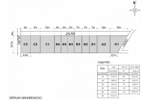 Nabung Beli Kapling Taman Solodiran, Bayar 12 X Bunga 0 % 16579087