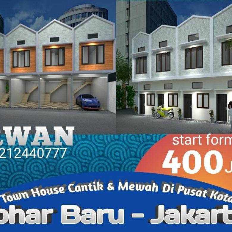 Rumah Murah Johar Baru Jakarta Pusat, Rumah Seharga Apartemen