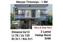 Rumah Manyar Tirtomoyo Sukolilo Surabaya Baru Siap Huni